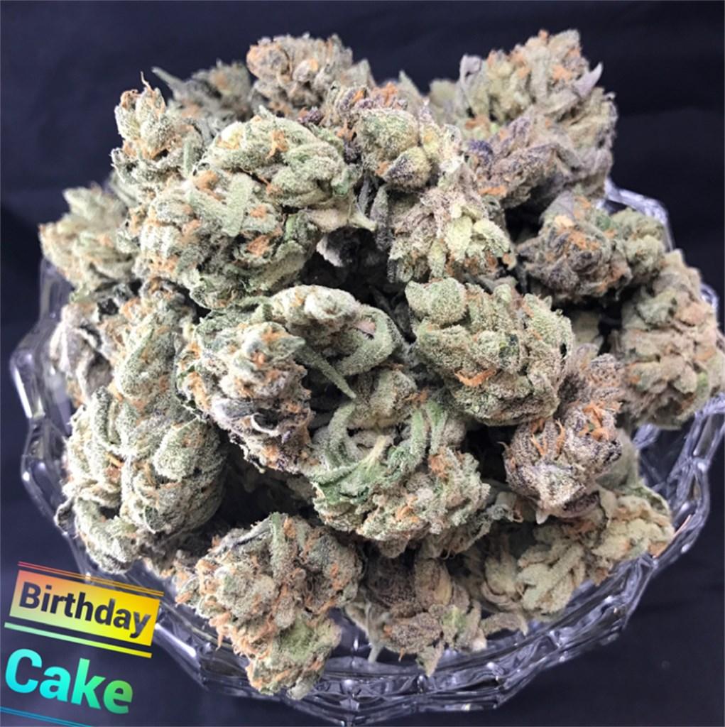 Fabulous Birthday Cake Kush Aka Birthday Cake Marijuana Strain Information Personalised Birthday Cards Veneteletsinfo